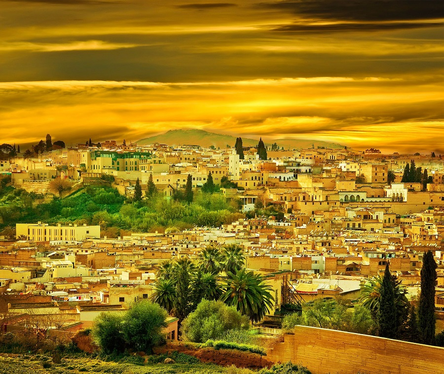 Panoramic Fez Morocco
