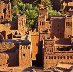 Kasbah AitBenHaddou en Ouarzazate, Marruecos